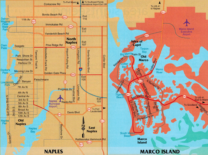 Marco Island and Naples
