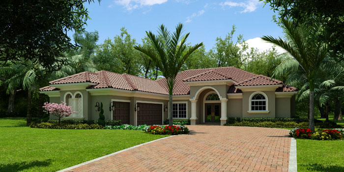 Real estate build your dream home avalon model for How to build your own house in florida
